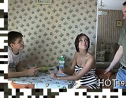 russian amateur double penetration